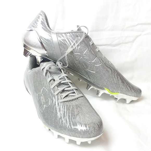 silver under armour cleats Online